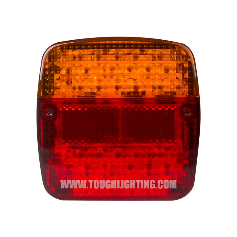 Emark Square LED Combination Tail Light