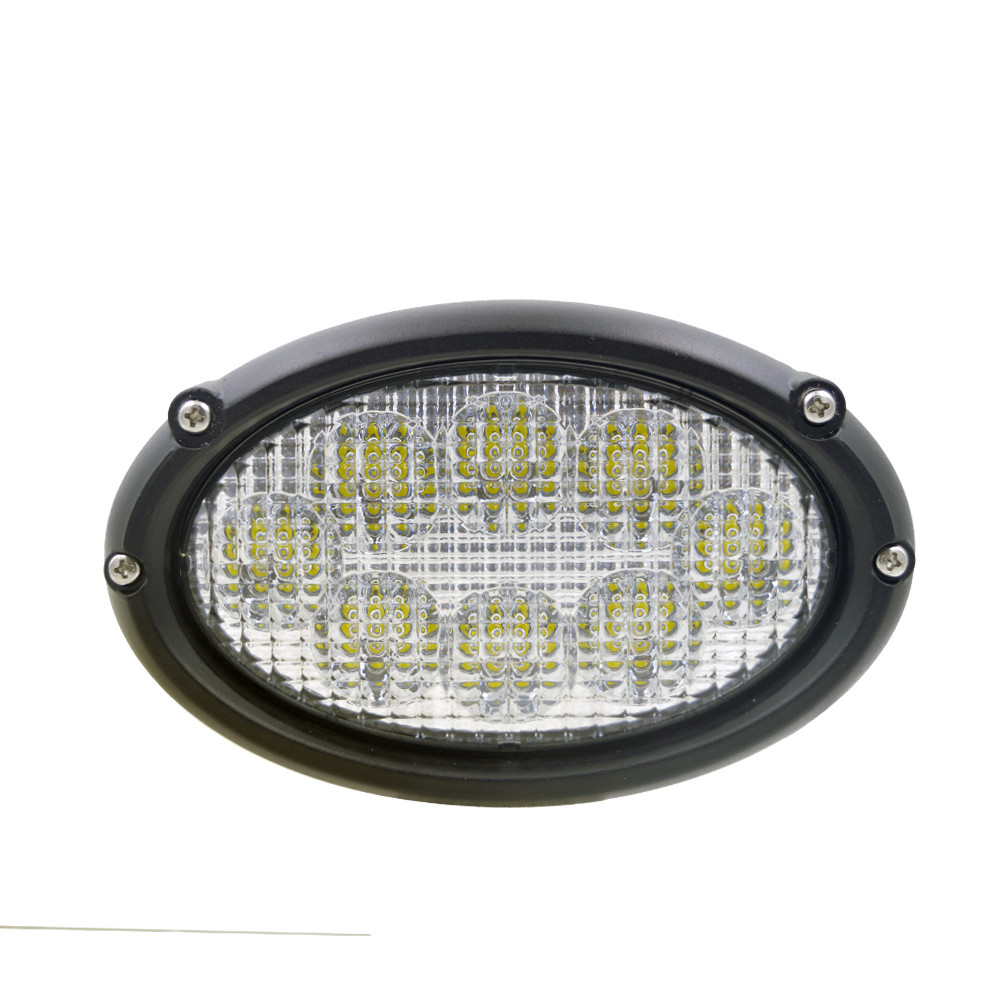 oval led tractor headlight