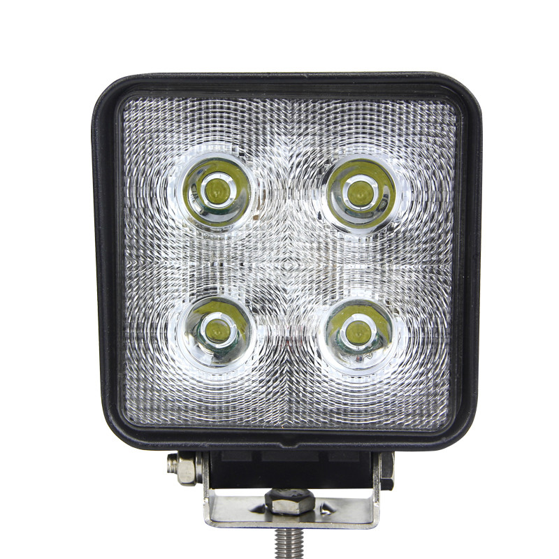 "4"" Square 40W Work Light"