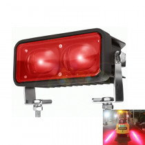 6in 18W Forklift Red Zone Warning Light