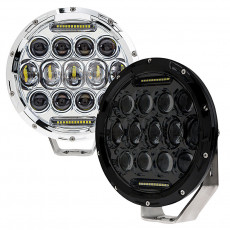 "7"" 75W Round LED Sealed Beam Jeep Headlight"