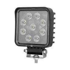 ECE R10 3.3inch 27W Square LED Work Lamp