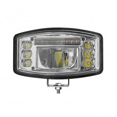 9 inch Oval DELTA/Oval LED Driving Light with E-approved and Position Light