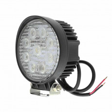 round 27w led work light