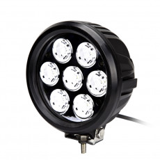 "7"" Round 70W LED Work Light"