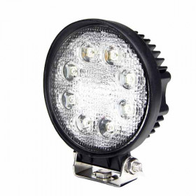 "4"" Round 24W LED Tractor Lights"