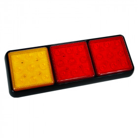 10.7in LED 3 Pod Combination Tail Light