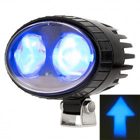 "5.5"" 10W LED Arrows Beam Forklift Blue Light"
