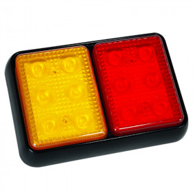 5.75in LED 2 Pod Combination Tail Light
