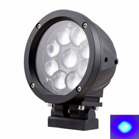 Blue Forklift Backup Lights - 5.5inch 45W
