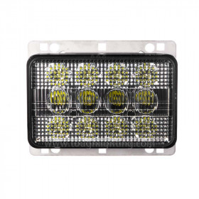 4X6in 60W Rectangle LED Tractor Headlights