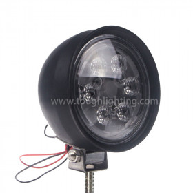Rubber Housing Round Utility Tractor Light 12V PAR 36 Trapezoid Beam