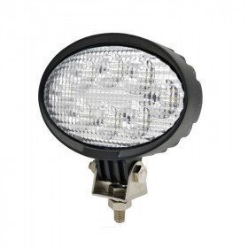 Oval LED Tractor Work Lights - 40W 5.6inch