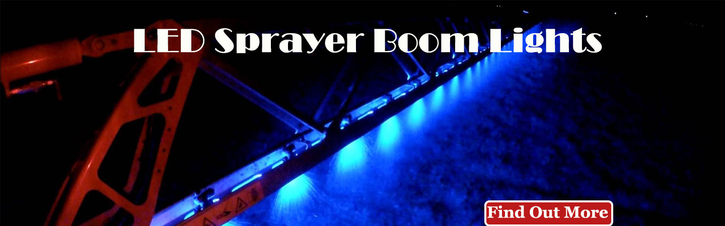 LED SPRAYER BOOM LIGHTS