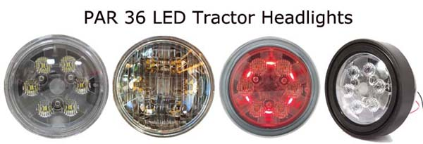 Chinese Tractor Headlight Bulbs : Tough lighting led tractor lights lineup