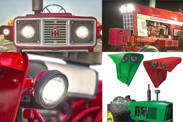 led tractor headlight application
